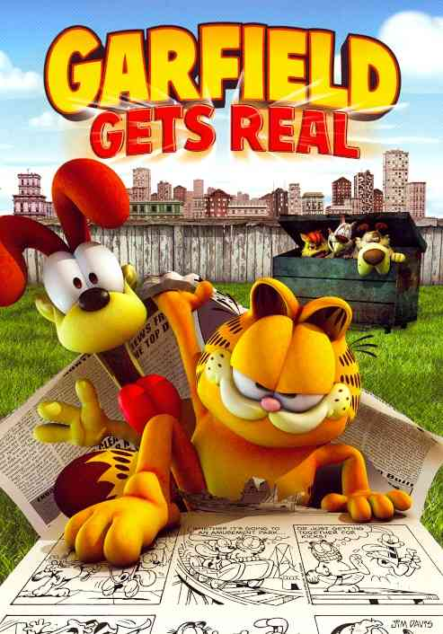 GARFIELD GETS REAL BY GARFIELD & FRIENDS (DVD)