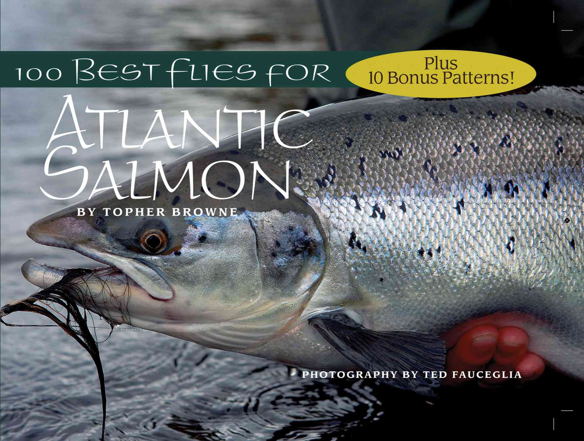 100 Best Flies for Atlantic Salmon By Browne, Topher/ Fauceglia, Ted (PHT)